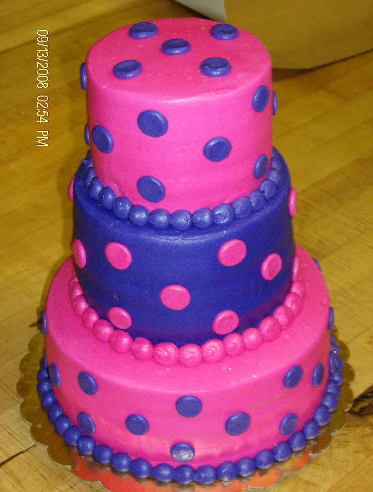 Birthday Cake With A Crown